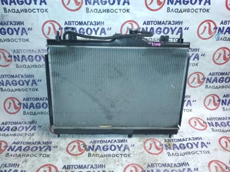 Радиатор основной Nissan Ad VZNY12 HR16DE A/T