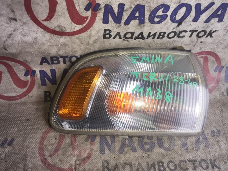 Габарит Toyota Estima Emina TCR11 передний правый 2849