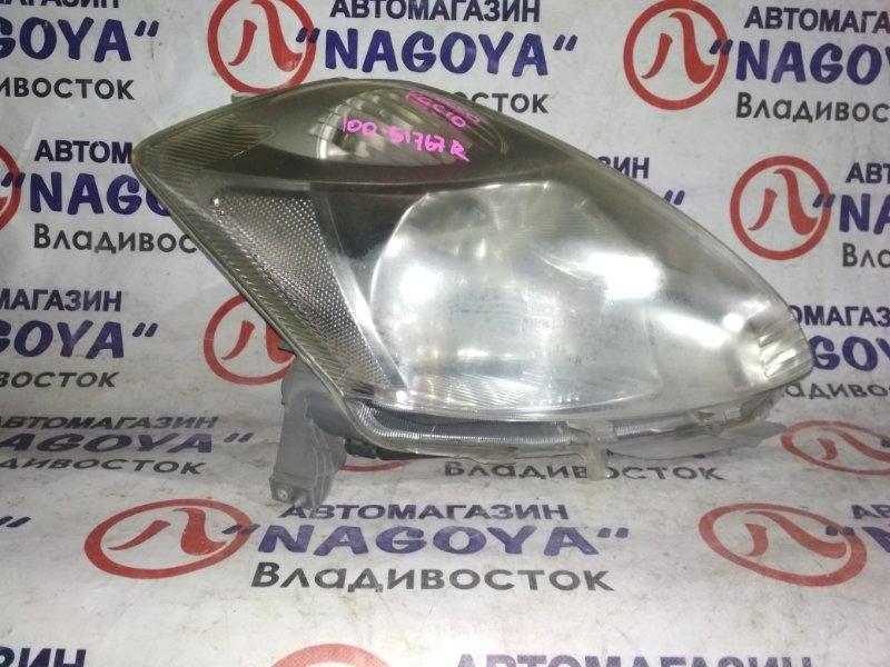 Фара Toyota Passo KGC10 передняя правая 100-51767