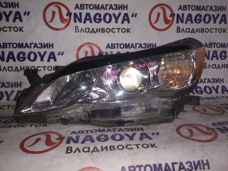 Фара Toyota Mark X GRX130 передняя левая 22348