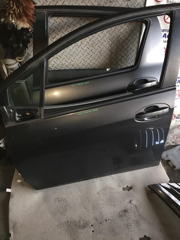 Дверь Toyota Vitz NSP130 передняя левая COLOR 1G3