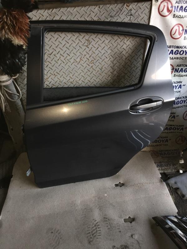 Дверь Toyota Vitz NSP130 задняя левая COLOR 1G3