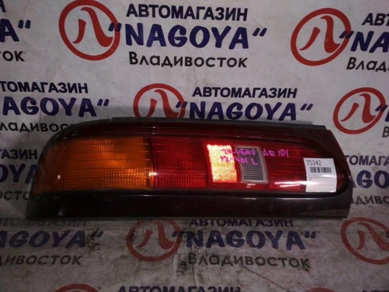 Стоп-сигнал Toyota Sprinter Trueno AE101 задний левый 12401
