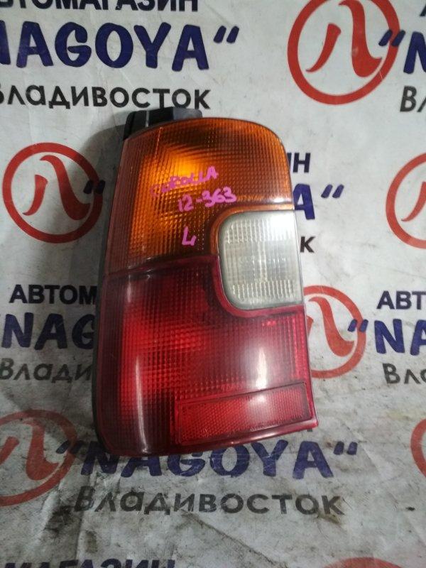 Стоп-сигнал Toyota Corolla AE109 задний левый 12363