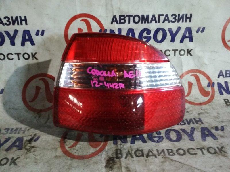 Стоп-сигнал Toyota Corolla AE110 задний правый 12442