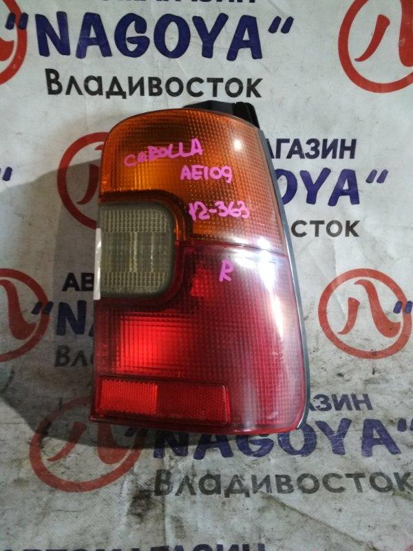 Стоп-сигнал Toyota Corolla AE109 задний правый 12363
