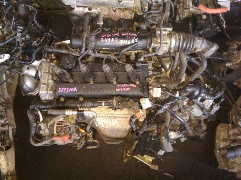 Двигатель Nissan X-Trail NT30 QR20DE 569310A