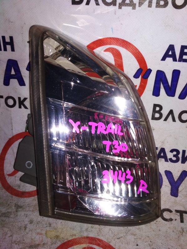 Габарит Nissan X-Trail NT30 передний правый 3443