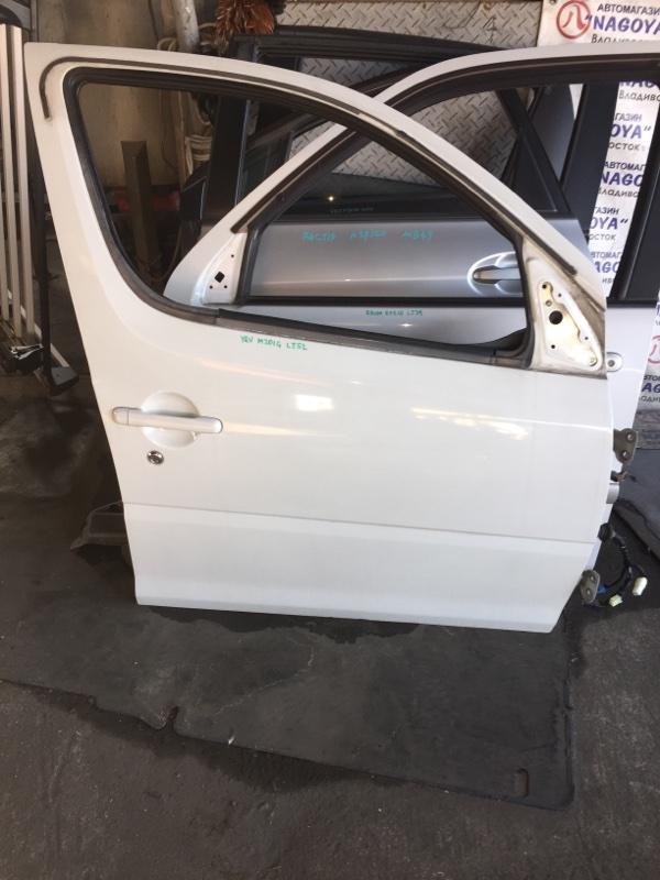 Дверь Daihatsu Yrv M201G передняя правая COLOR W09