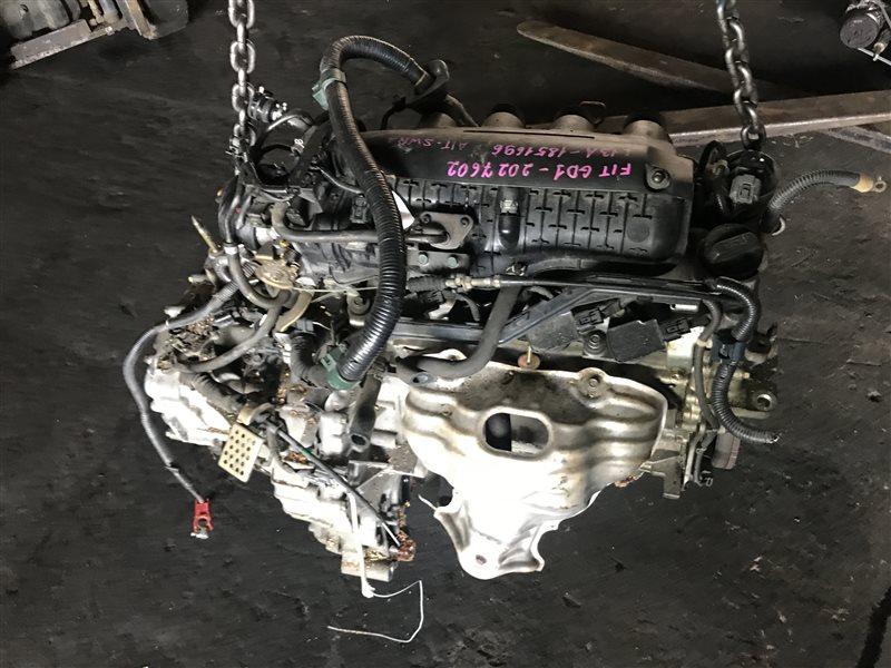 Двигатель Honda Fit GD1 L13A 1851696