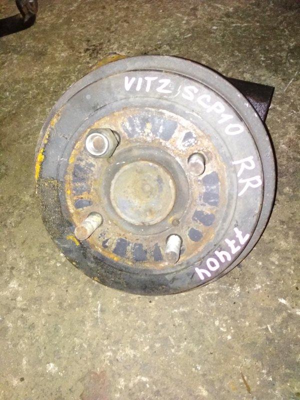 Ступица Toyota Vitz SCP10 задняя правая ABS