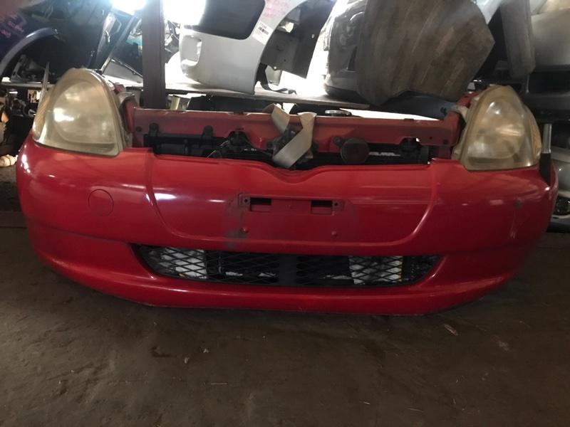 Nose cut Toyota Vitz SCP10 1SZ-FE передний 52001