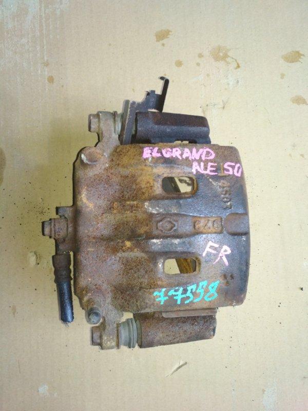 Суппорт Nissan Elgrand ALE50 передний правый 4503