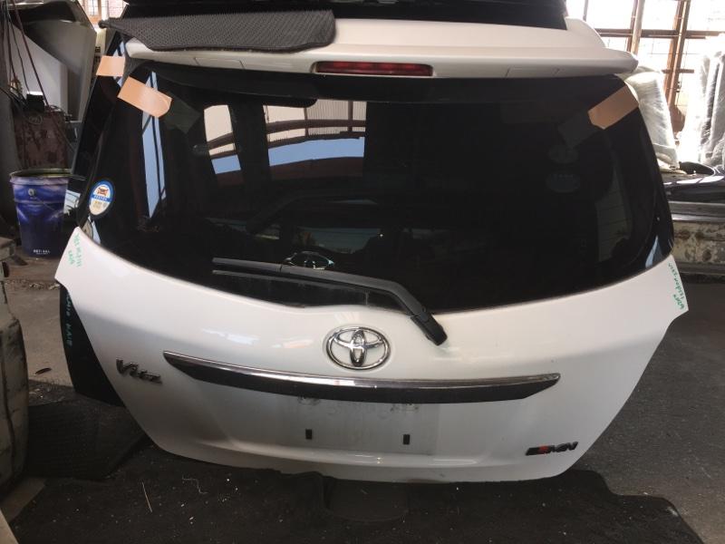 Дверь 5-я Toyota Vitz NCP131 задняя COLOR 040