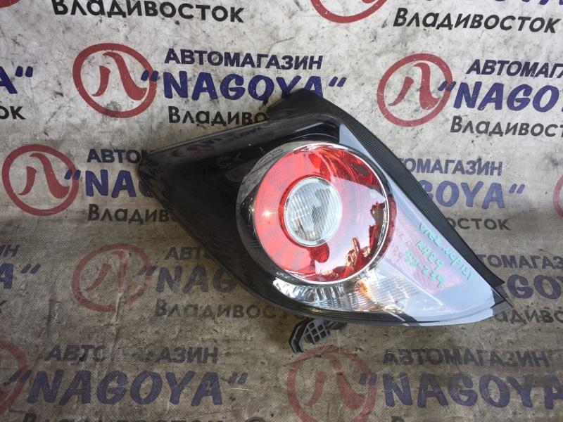 Стоп-сигнал Toyota Vitz NCP131 задний левый 52239