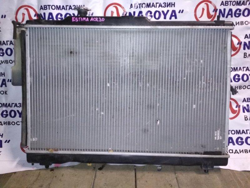 Радиатор основной Toyota Estima ACR30 2AZ-FE A/T
