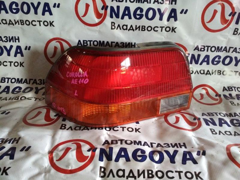 Стоп-сигнал Toyota Corolla AE110 задний левый 12413