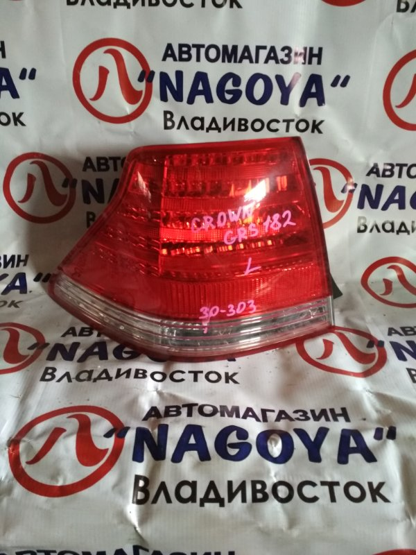 Стоп-сигнал Toyota Crown GRS182 задний левый 30303