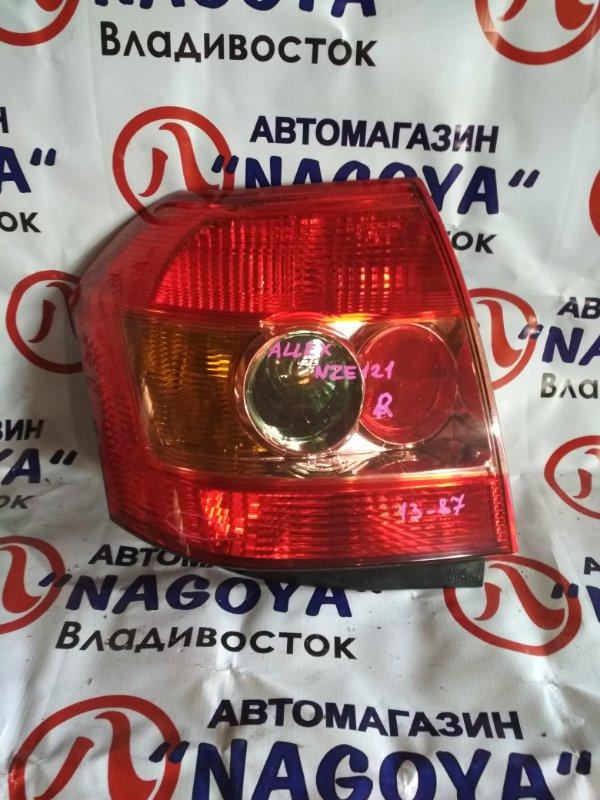 Стоп-сигнал Toyota Allex NZE121 задний правый 1387