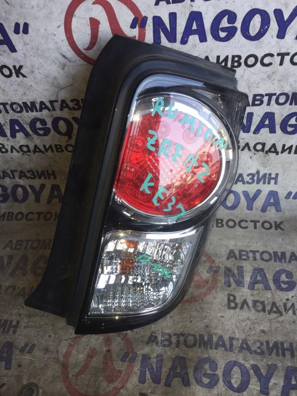 Стоп-сигнал Toyota Corolla Rumion ZRE152 задний правый 12554
