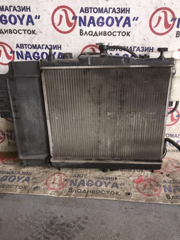 Радиатор основной Nissan Cube YZ11 HR15DE A/T