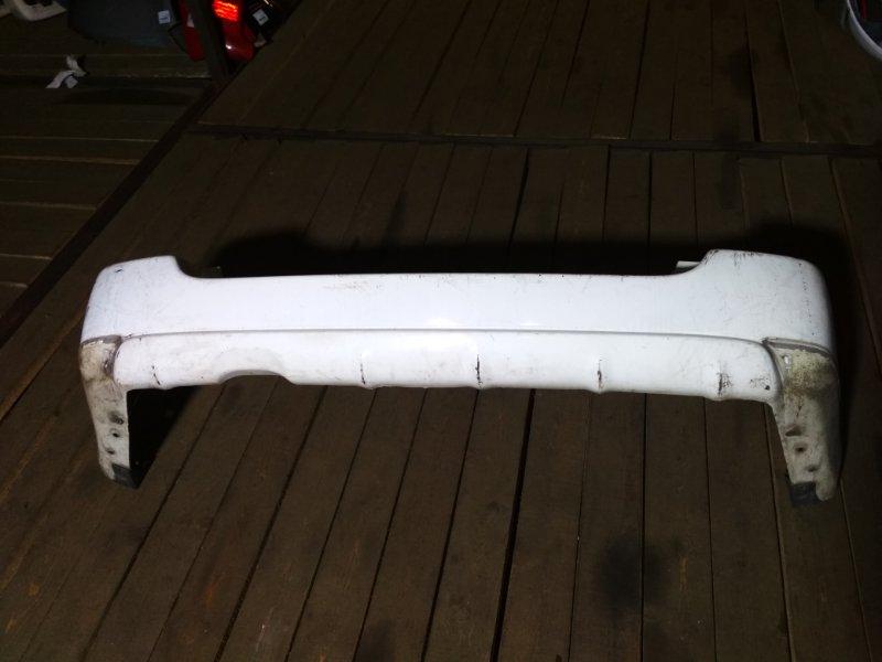 Бампер Subaru Forester SG5 задний