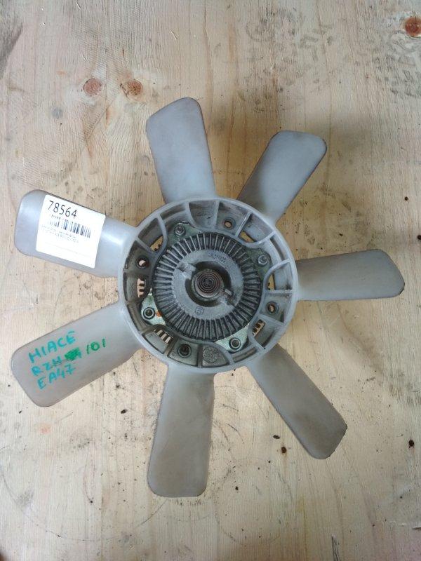 Вентилятор с вискомуфтой Toyota Hiace RZH101 2RZ-E