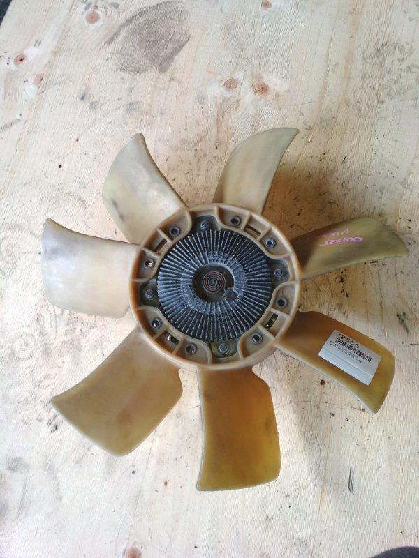 Вентилятор с вискомуфтой Toyota Cresta JZX100 1JZ-GE