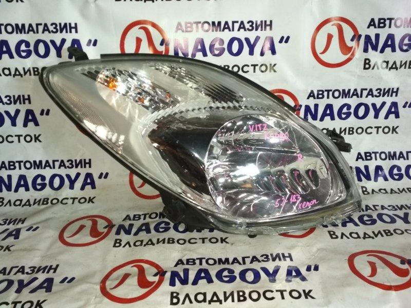 Фара Toyota Vitz KSP90 передняя правая 52183