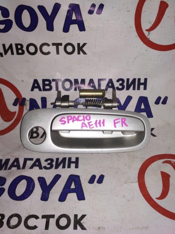 Ручка двери внешняя Toyota Corolla Spacio AE111 передняя правая
