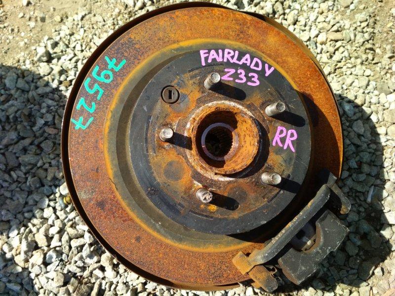 Ступица Nissan Fairlady Z Z33 задняя правая