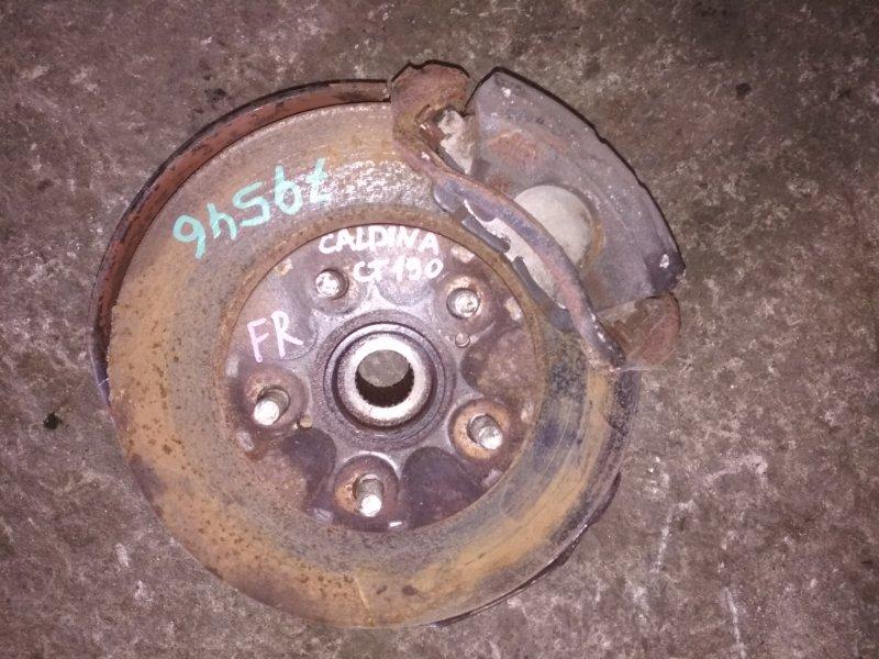 Ступица Toyota Caldina CT190 передняя правая