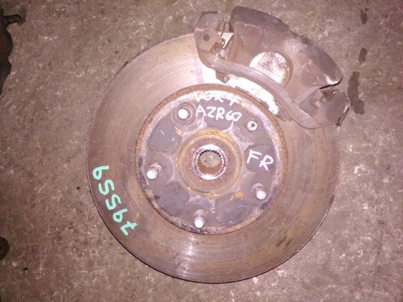 Ступица Toyota Voxy AZR60 передняя правая ABS