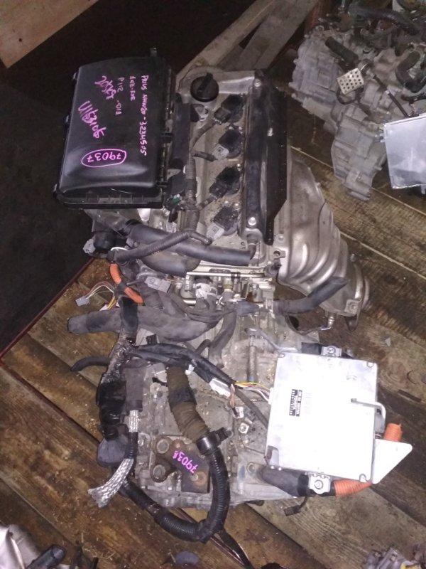 Двигатель Toyota Prius NHW20 1NZ-FXE U163105