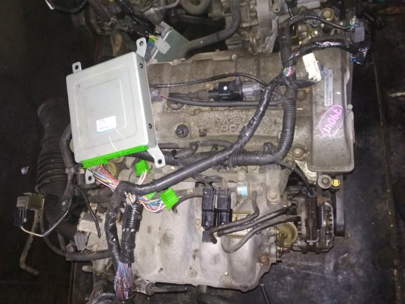 Двигатель Mazda Premacy CP8W FP-DE 587289