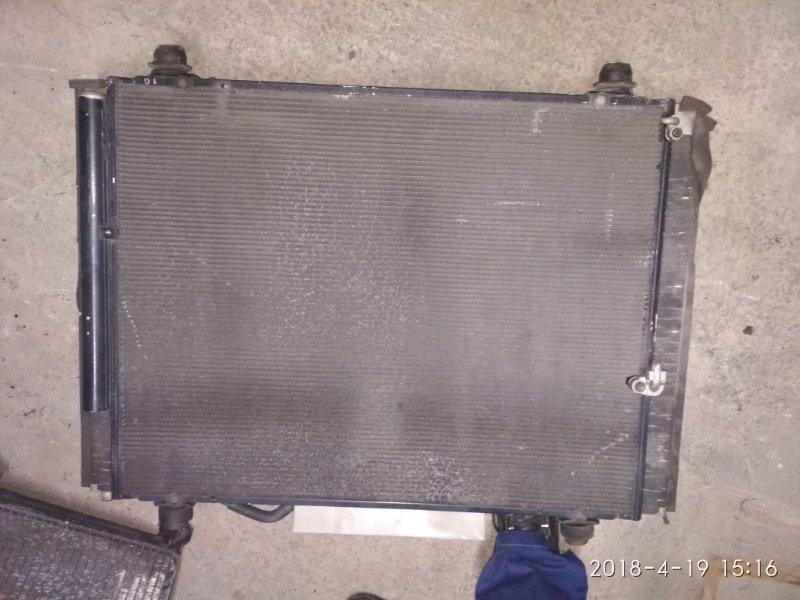 Радиатор кондиционера Toyota Alphard ANH10 2AZ