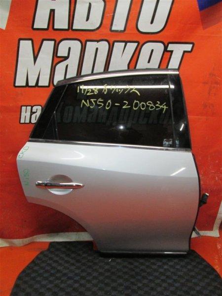 Дверь Infiniti Ex37 NJ50 VQ37VHR задняя правая
