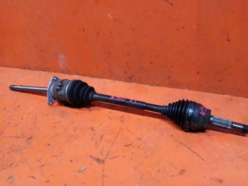 Привод Infiniti Ex37 NJ50 VQ37VHR передний левый