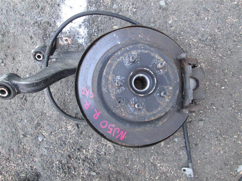 Ступица Infiniti Ex37 NJ50 VQ37VHR задняя правая