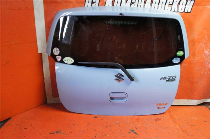 Дверь 5-я Suzuki Alto HA35S задняя