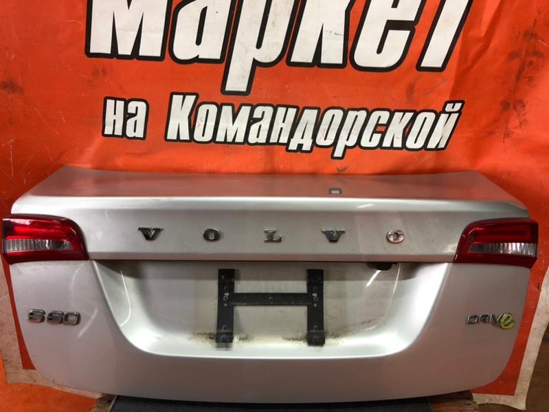 Крышка багажника Volvo S60 FS45 2012 задняя