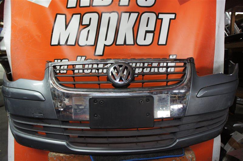 Бампер Volkswagen Touran 1T2 CAV 2008 передний