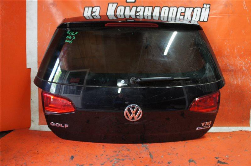 Дверь 5-я Volkswagen Golf 5G1 2014 задняя