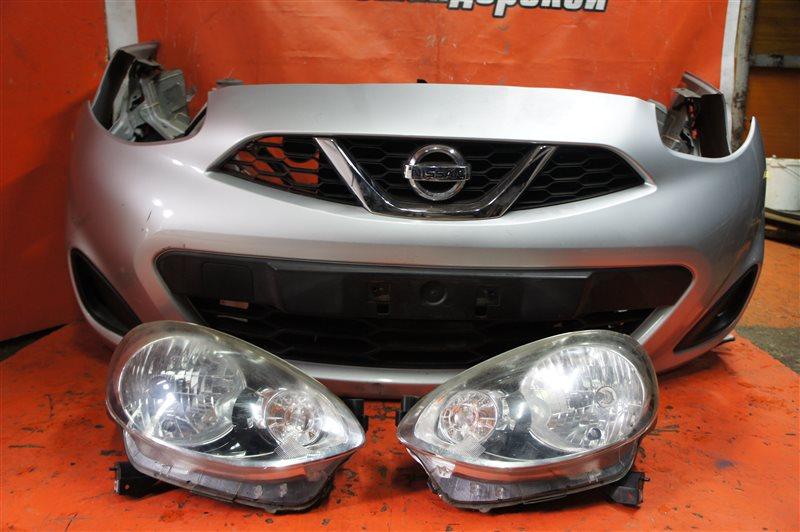 Nose cut Nissan March K13 HR12 передний