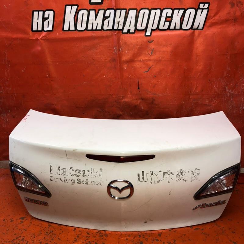 Крышка багажника Mazda Axela BL6FJ задняя