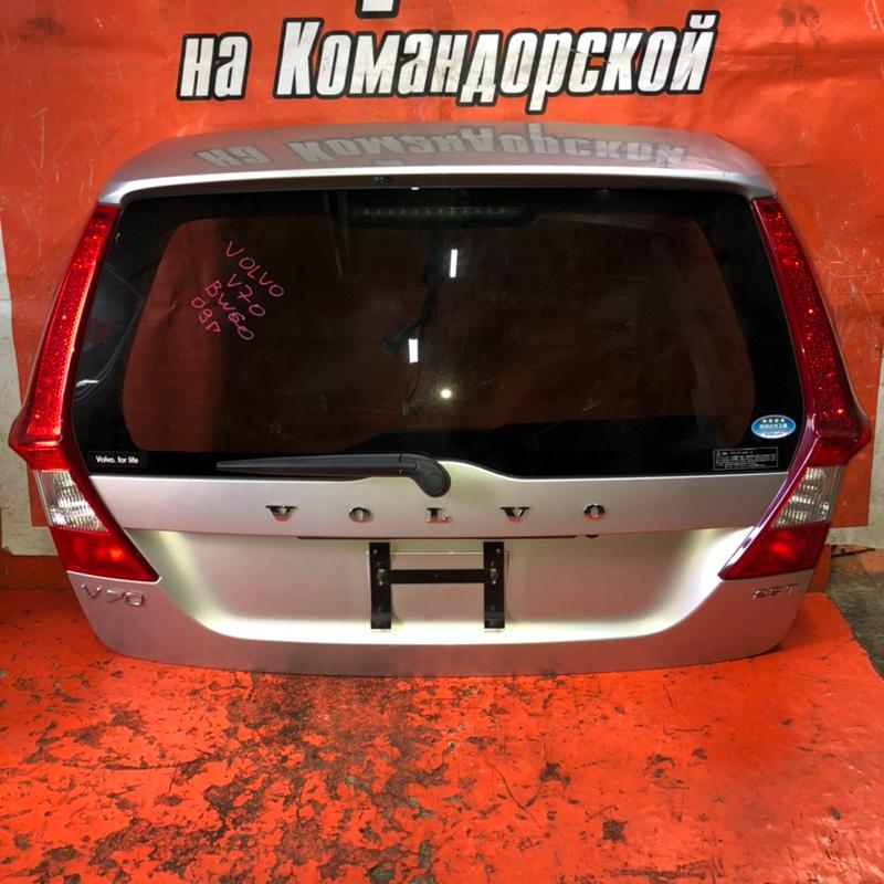 Дверь 5-я Volvo V70 BW60 2009 задняя