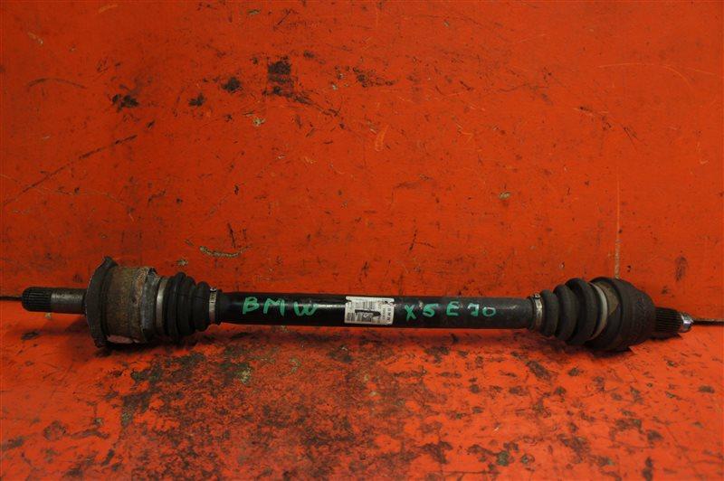 Привод Bmw X5 E70 N52B30A задний правый