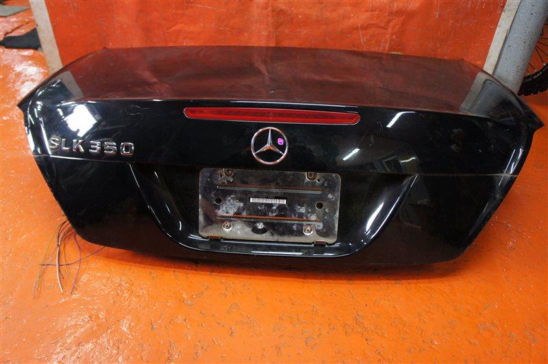 Крышка багажника Mercedes-Benz Slk-Class R171 272.963 2005 задняя