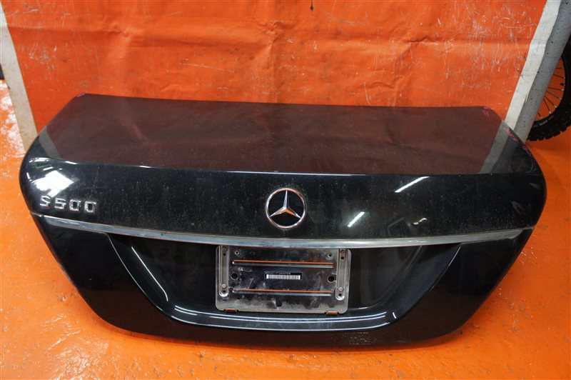 Крышка багажника Mercedes-Benz S-Class W221 273.961 задняя