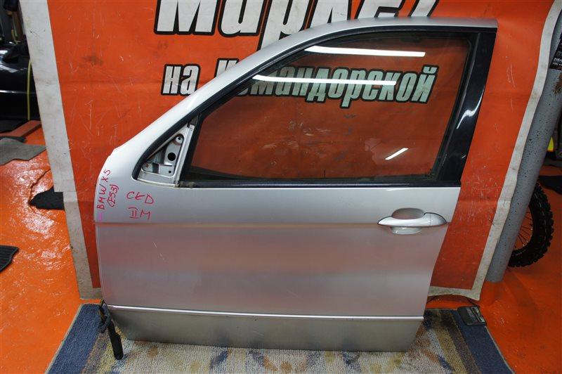 Дверь Bmw X5 E53 2006 передняя левая